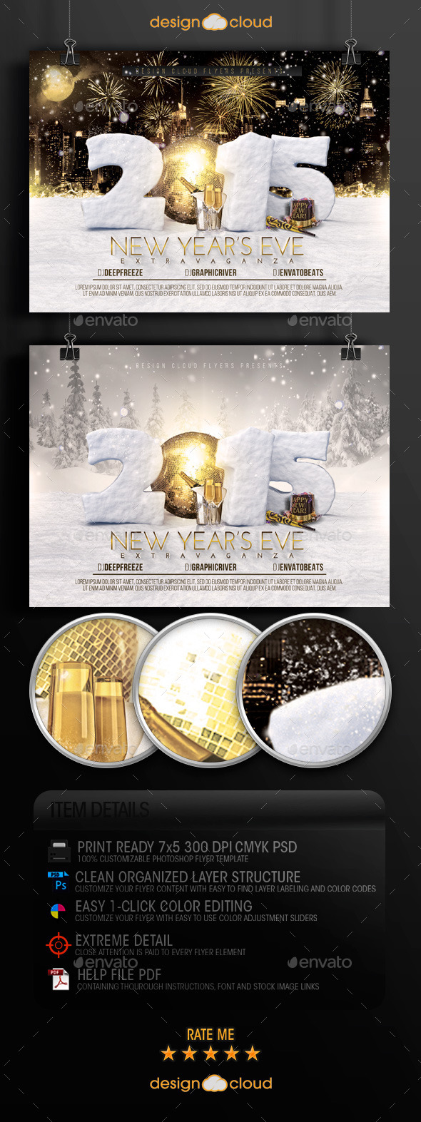 GraphicRiver New Year s Eve Extravaganza Flyer Template 9630495
