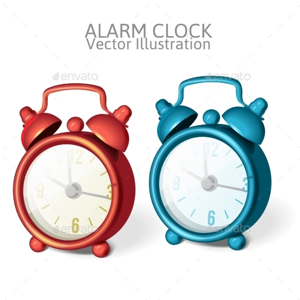 GraphicRiver Alarm Clock 9630543