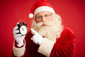 Santa with alarm clock - PhotoDune Item for Sale