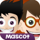 Awesome Boy Mascot - GraphicRiver Item for Sale