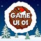 Christmas Mobile Game UI Kit 01 - GraphicRiver Item for Sale