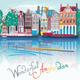Amsterdam Illustration - GraphicRiver Item for Sale