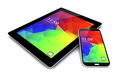 smartphone ant tablet with touchscreen interface - PhotoDune Item for Sale