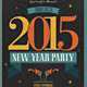2015 New Year Flyer - GraphicRiver Item for Sale