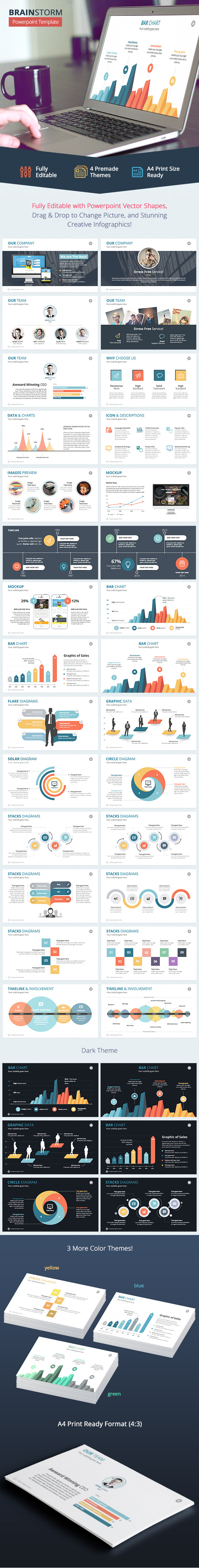 Brainstorm Powerpoint Template