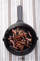 cast iron pan with grilled bacon - PhotoDune Item for Sale