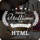 Italliano - Clean Premium Restaurant Template