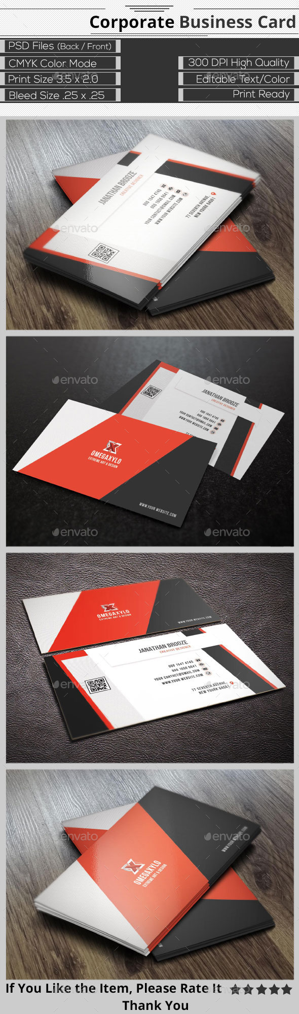 GraphicRiver Creative Corporate Business Card 9631395