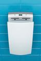 High speed vertical hand dryer in public toilet - PhotoDune Item for Sale