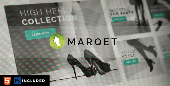ThemeForest MarQet Responsive eCommerce Template 9590629