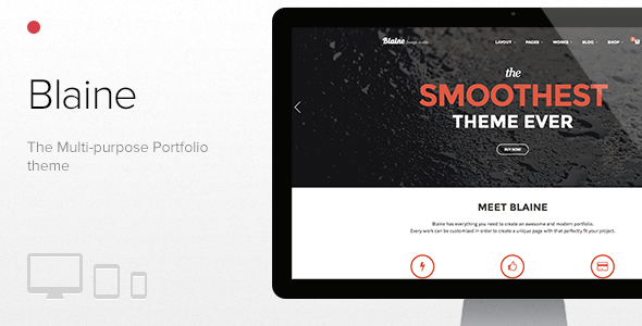 Blaine - The Multipurpose Portfolio theme