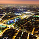 Aerial Night view of Paris - PhotoDune Item for Sale