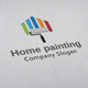 Home Painting Logo - GraphicRiver Item for Sale