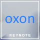 Oxon - Keynote Presentation Template - GraphicRiver Item for Sale