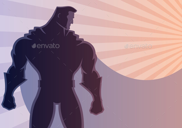 Superhero Background 2