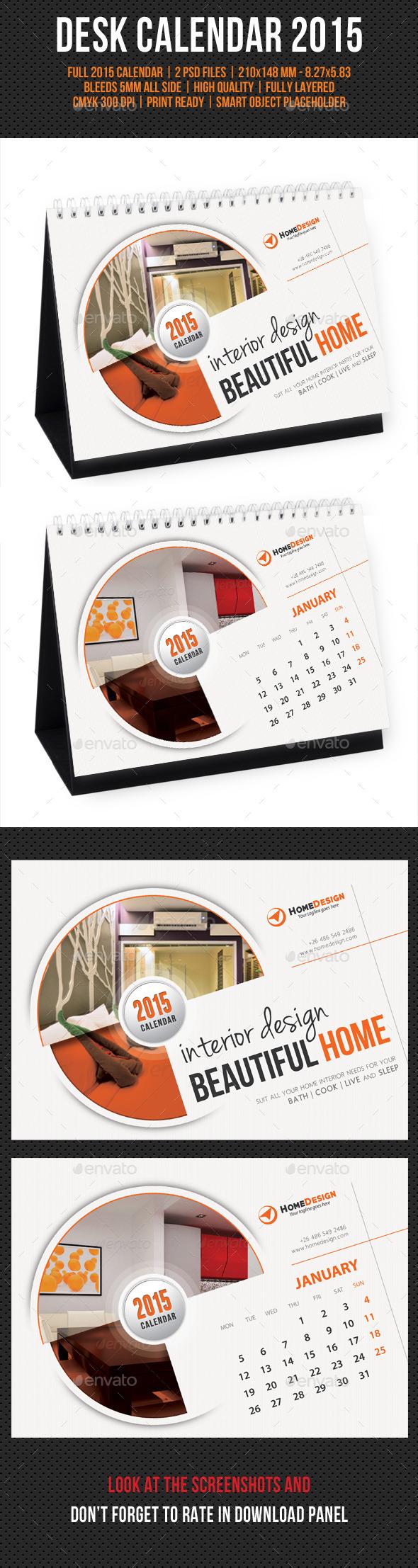 GraphicRiver Creative Desk Calendar 2015 V06 9635075