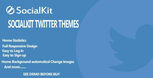 CodeCanyon Twitter themes for Socialkit 9600069