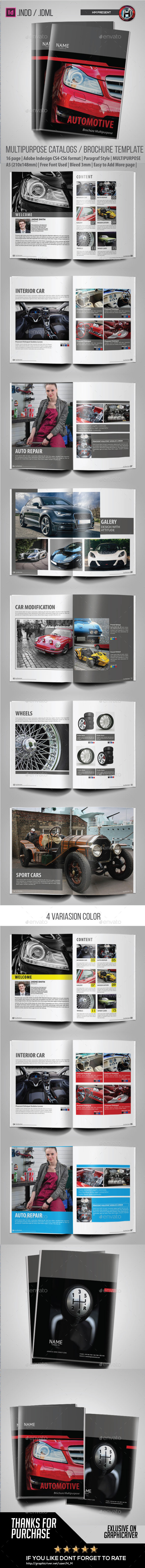GraphicRiver Catalogs Brochure Automotive 9635238