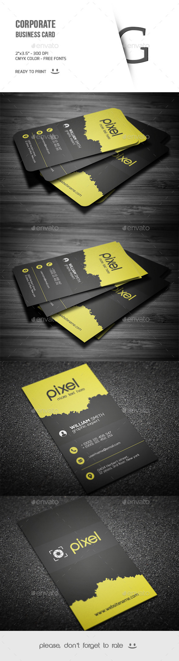 GraphicRiver Corporate Business Card 9635294