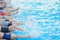 children group  at swimming pool - PhotoDune Item for Sale