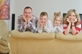 happy young family at home - PhotoDune Item for Sale
