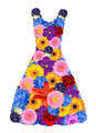 women dress from spring flowers - PhotoDune Item for Sale