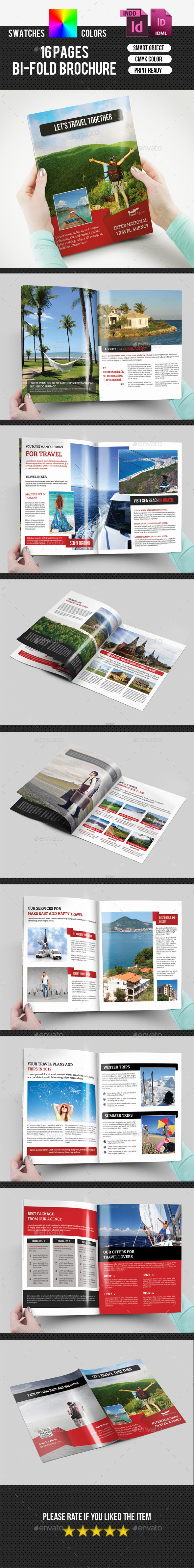 GraphicRiver Travel Agency Bifold Brochure-V166 9635710