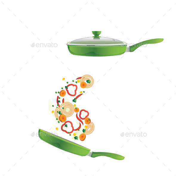 GraphicRiver Frying Pan 9636267