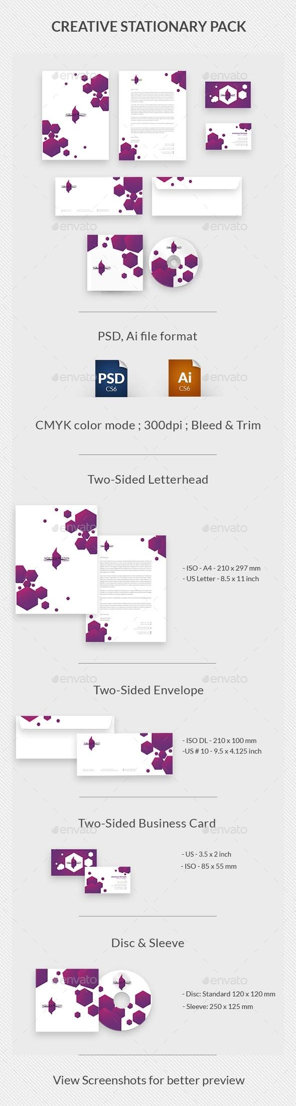 GraphicRiver Creative Stationary Pack 9636910