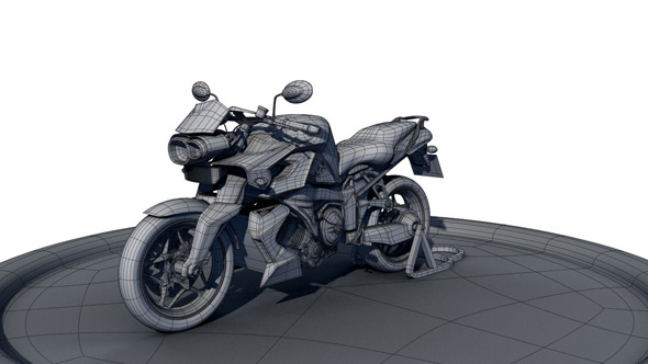 BMW_K1300R - 3DOcean Item for Sale