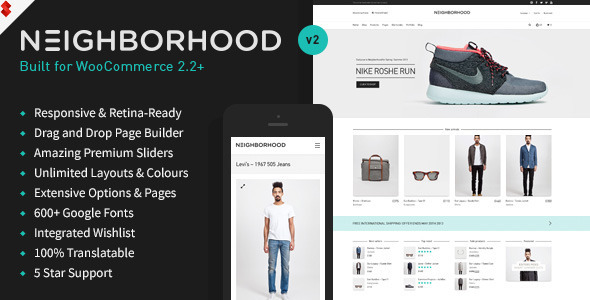 Neighborhood - Responsive Multi-Purpose Shop Theme - WooCommerce eCommerce