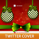 Christmas Twitter Profile Cover - GraphicRiver Item for Sale