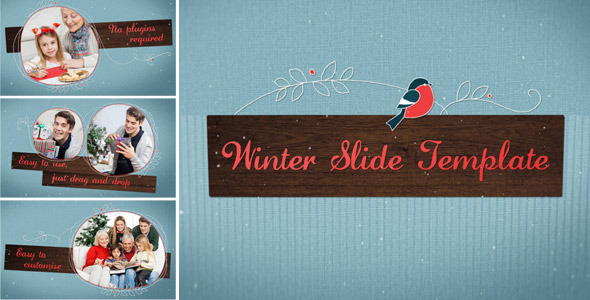 Winter Slide Template