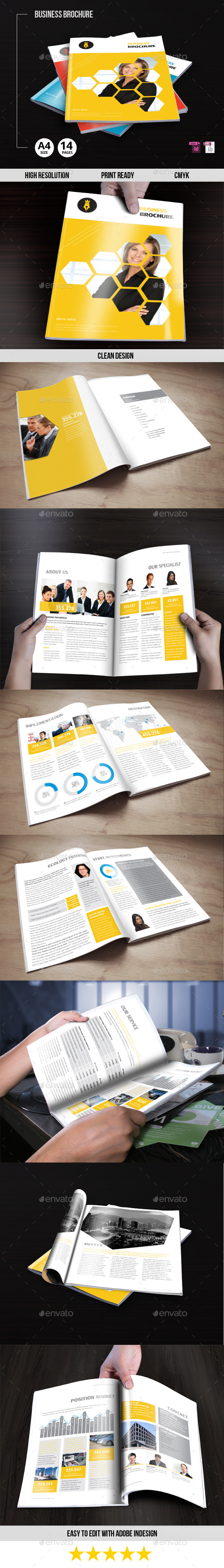 GraphicRiver Business Brochure 9637294