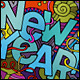 3 New Year Doodles Designs - GraphicRiver Item for Sale