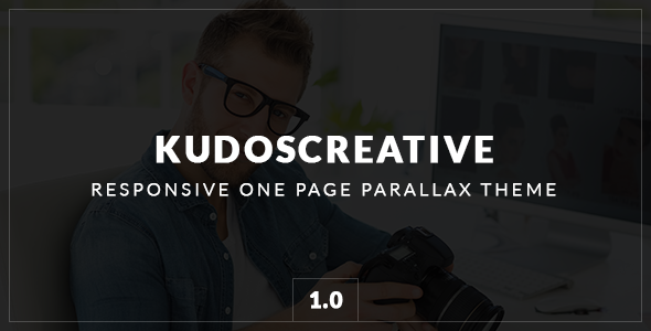 ThemeForest KudosCreative Responsive One-Page Parallax Theme 9637577