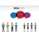 Social People Concept - GraphicRiver Item for Sale