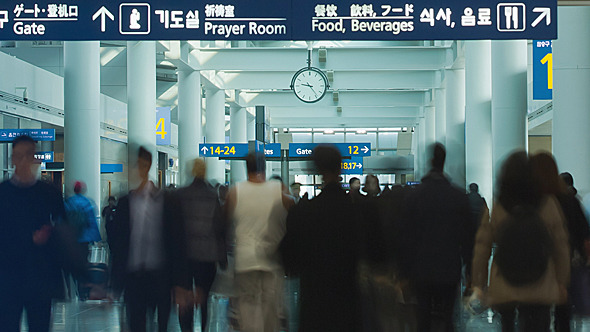 VideoHive Airport Traffic 9637944