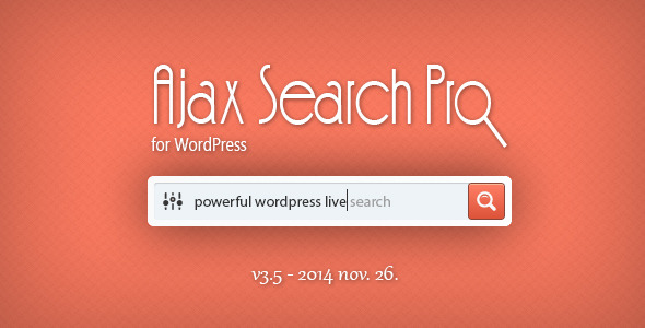 Ajax Search Pro for WordPress - Live Search Plugin - CodeCanyon Item for Sale