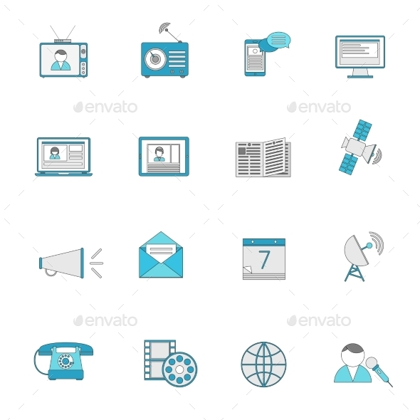 GraphicRiver Media Icons 9637984