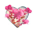 Heart Shaped with Flowers - PhotoDune Item for Sale