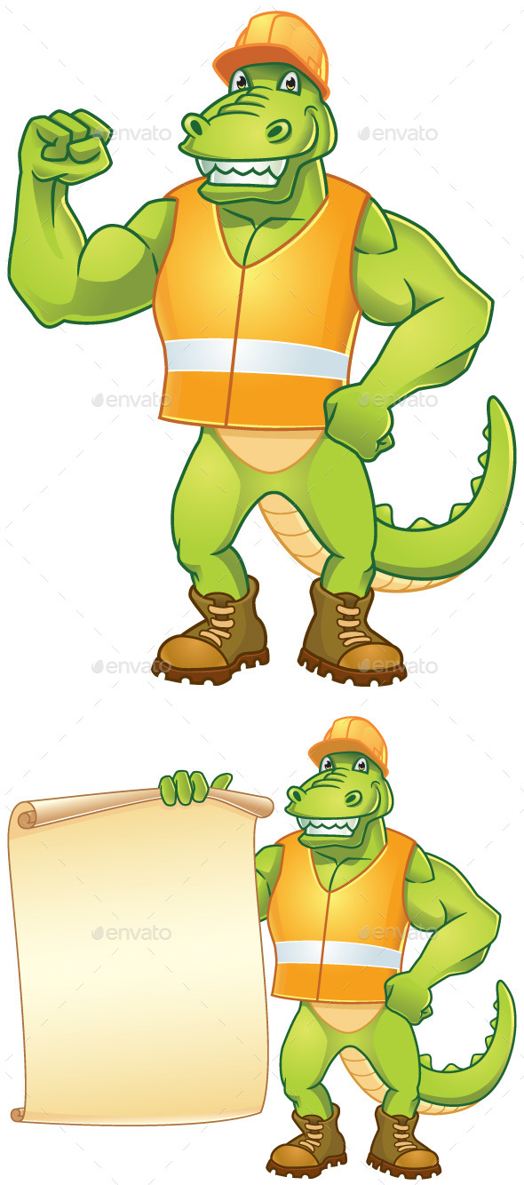 GraphicRiver Dino Worker 9638178