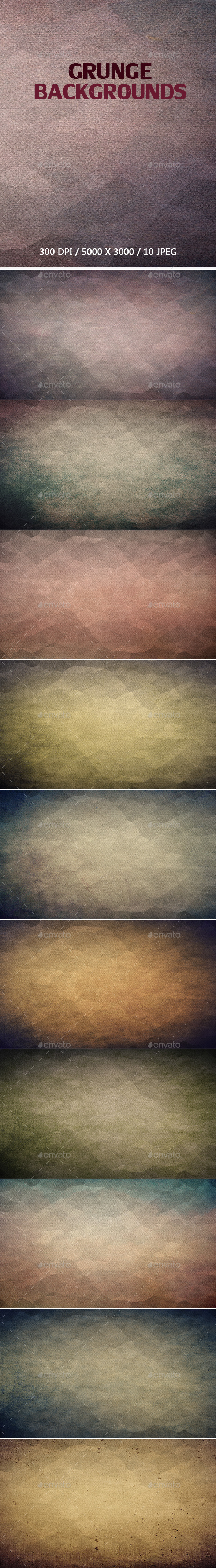 GraphicRiver Grunge Backgrounds 9638186