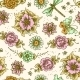 Vintage Floral Colored Seamless Pattern - GraphicRiver Item for Sale