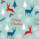 Seamless Christmas Pattern, Vector - GraphicRiver Item for Sale