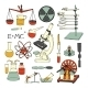Science Sketch Icons - GraphicRiver Item for Sale