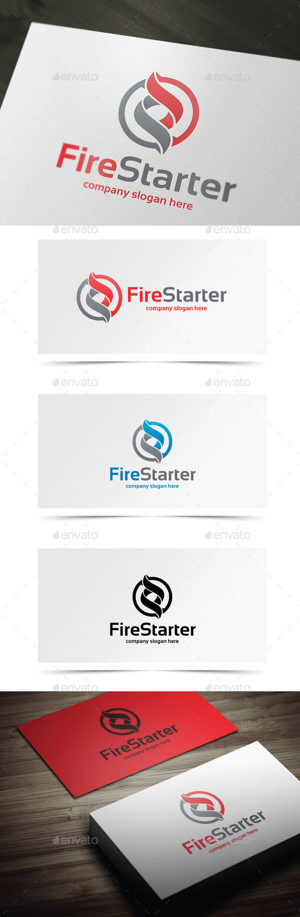 GraphicRiver Fire Starter 9638423