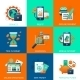 Bank Icons Set - GraphicRiver Item for Sale