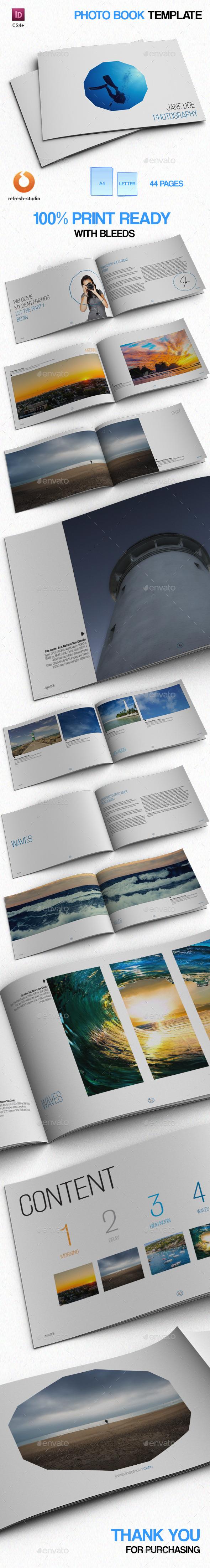 GraphicRiver Minimal Photo Book 9638808
