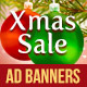 Xmas Sale - Web Ad Banners  - GraphicRiver Item for Sale